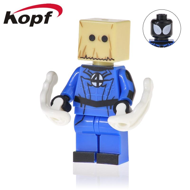 Toys & Hobbies Sincere 1pcs Star Wars Superhero Marvel Decool Comics Deadpool Building Blocks Action Sets Model Bricks Toys For Children Pure White And Translucent