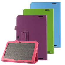 Ultra Slim Litchi Grain 2-Folding Folio Stand PU Leather Skin Protective Cover Case For Acer Iconia A3-A20 A3 A20 10.1″ Tablet