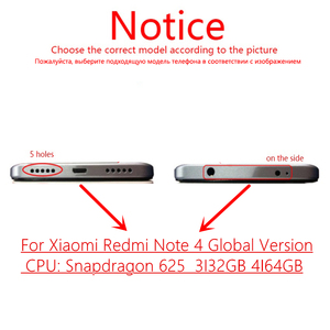 Image 2 - For Xiaomi Redmi Note 4 Global 4GB 64GB LCD Display Frame Touch Screen Panel Redmi Note 4 Pro Snapdragon 625 LCD Digitizer Parts
