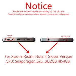 Image 2 - עבור Xiaomi Redmi הערה 4 הגלובלי 4GB 64GB LCD תצוגת מסגרת מסך מגע פנל Redmi הערה 4 פרו snapdragon 625 LCD Digitizer חלקי