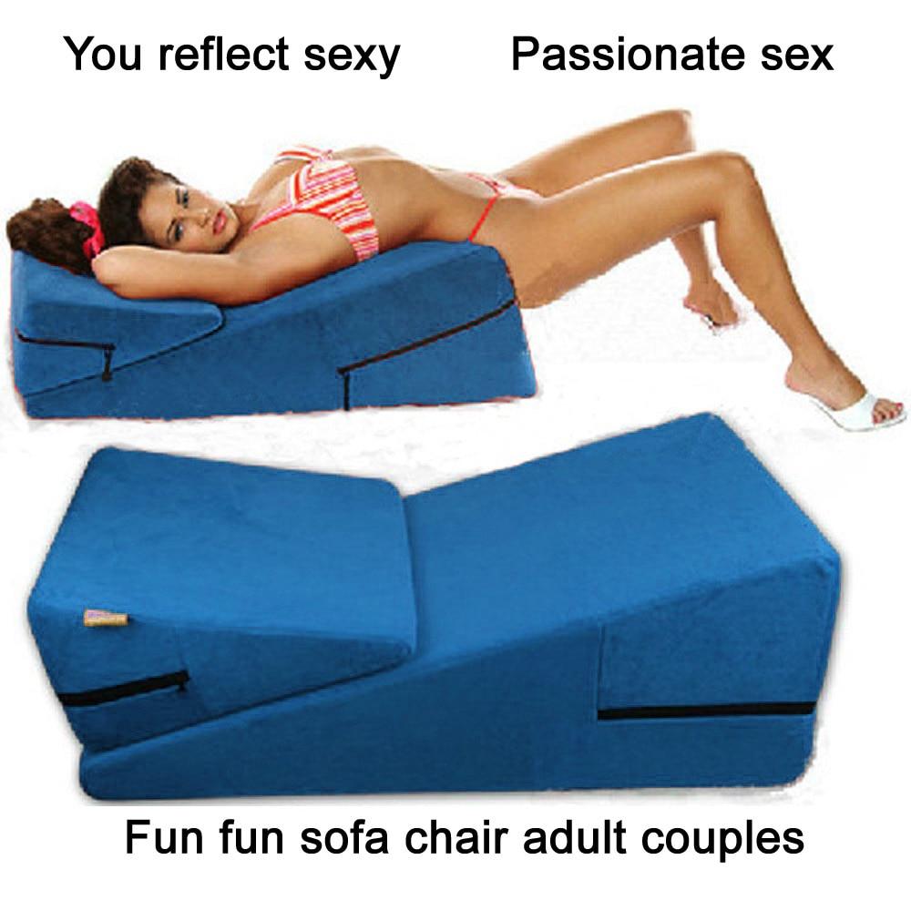 2016 New Sex Furniture 2 Pieces Triangle Sponge Pad Sex Cube Magic