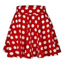 Мини-плиссированная сексуальная юбка с красной волной, новая короткая юбка с завышенной талией, плиссированная юбка в клетку для колледжа