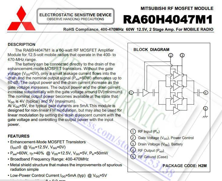 RA60H4047M1