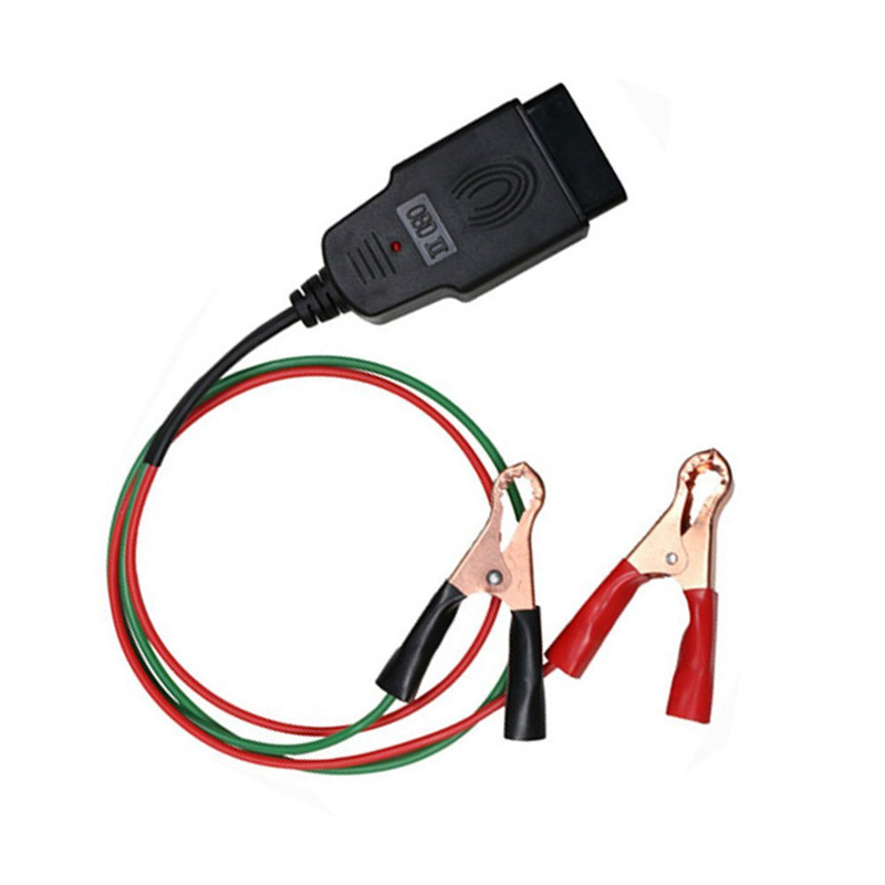 10pcs/lot via DHL OBD II OBD2 auto car Memory Saver Connector car cables ECU Emergency Power protector