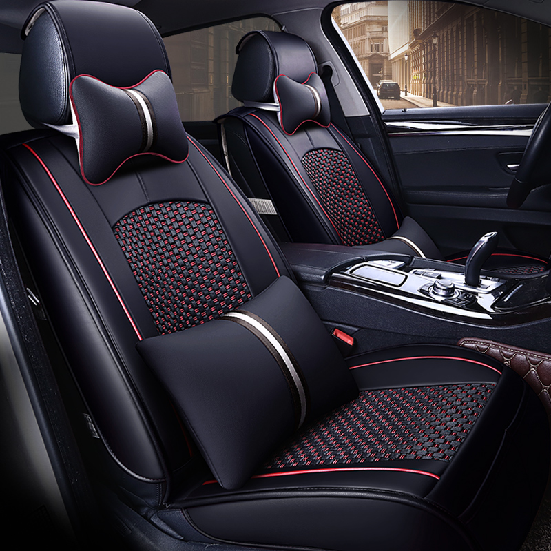 5seat(front+rear)high Quality Auto Car Seat Covers Car-styling For Cadilac Seville Sls/ats-l/ct6/ct6 Plug-in/xt5/xts/ats/cts/srx Easy And Simple To Handle
