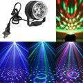 Новое Прибытие Мини Авто RGB LED Кристалл Magic Ball Освещение Сцены эффект Лампы Стороны Дискотека Клуб DJ Light Show Lumiere ЕС/US Plug