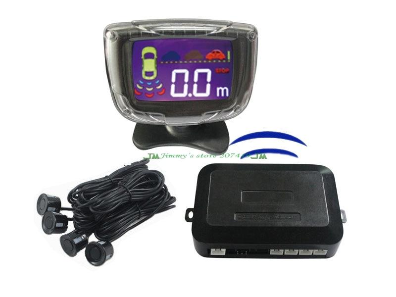 цена на Car wireless led Display parking sensor Reverse Backup Radar Detector Alarm Security System+Vehicle 4 parking Sensor