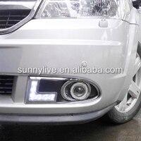 For Dodge JCUV for Fiat Freemont led DRL daytime running light