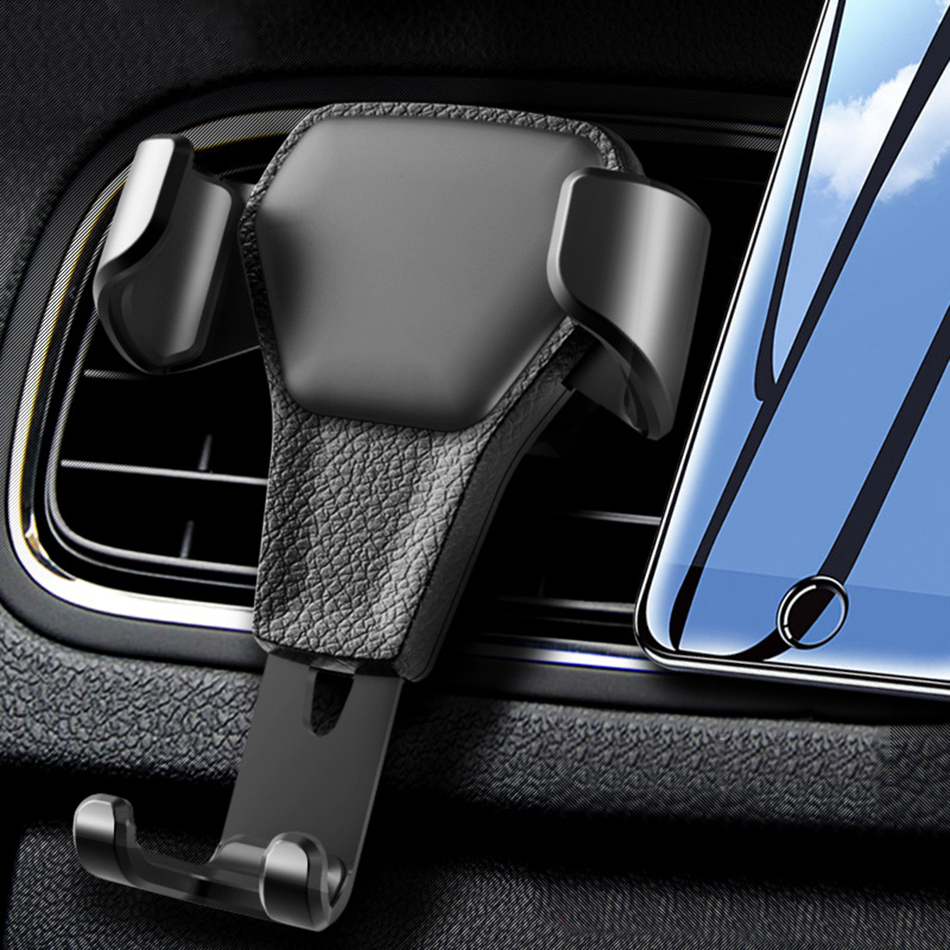 Universal Car Phone Holder Gravity Car Air Vent Mount In Car For IPhone X 8 7 Samsung Xiaomi Huawei P20 Pro Phone Stand Bracket