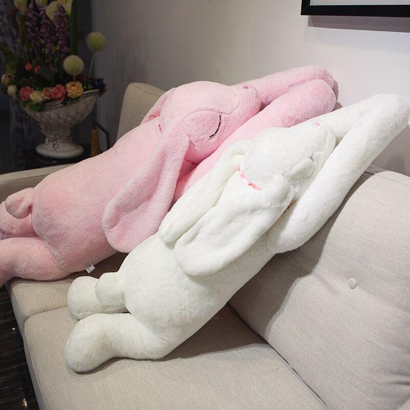 Super doux longs bras lapin en peluche bébé jouet canapé oreiller mignon lapin poupée cadeaux d'anniversaire pour enfants amis petite amie cadeaux