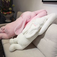super soft long arms rabbit stuffed plush baby toy sofa pillow cute rabbit doll birthday gifts for kids friends girlfriend gifts