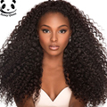 7A Glueless Lace Front Human Hair Wigs 250% Density Deep Curly Brazilian Vrigin Hair Lace Front Wigs Black Women Curly Lace Wig