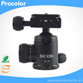 "Professional Gimbal Swivel Panoramic SLR DSLR Camera Tripod Monopod Ball Head Ballhead with Quick Release Plate 1/4"" Screw"