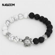 Мужской подарочный браслет для девочек и мужчин серебряный 8