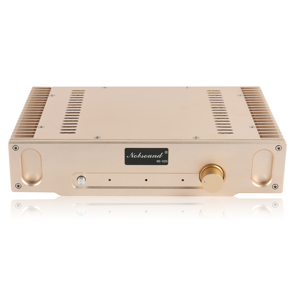 Nobsound NS-02G Perfect Hood 1969 Gold Pure Class A finished Power AMP Amplifier Finished Product 110~240V giudi 10069 a v ns
