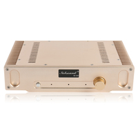 Nobsound NS 02G Perfect Hood 1969 Gold Pure Class A finished Power AMP Amplifier Finished Product 110~240V