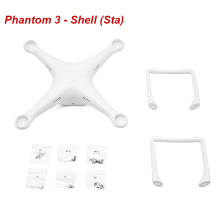 Original DJI Phantom 3 Standard- Shell (Sta) with landing gear, top and bottom covers and screws Free Shipping