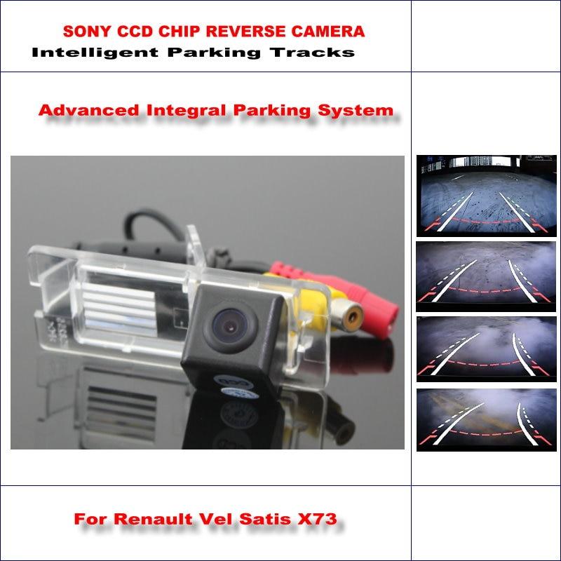 Dynamic Guidance Camera For Renault Vel Satis X73 / Renault Espace 4 / 580 TV Lines HD 860 Pixels Parking Intelligentized цены онлайн