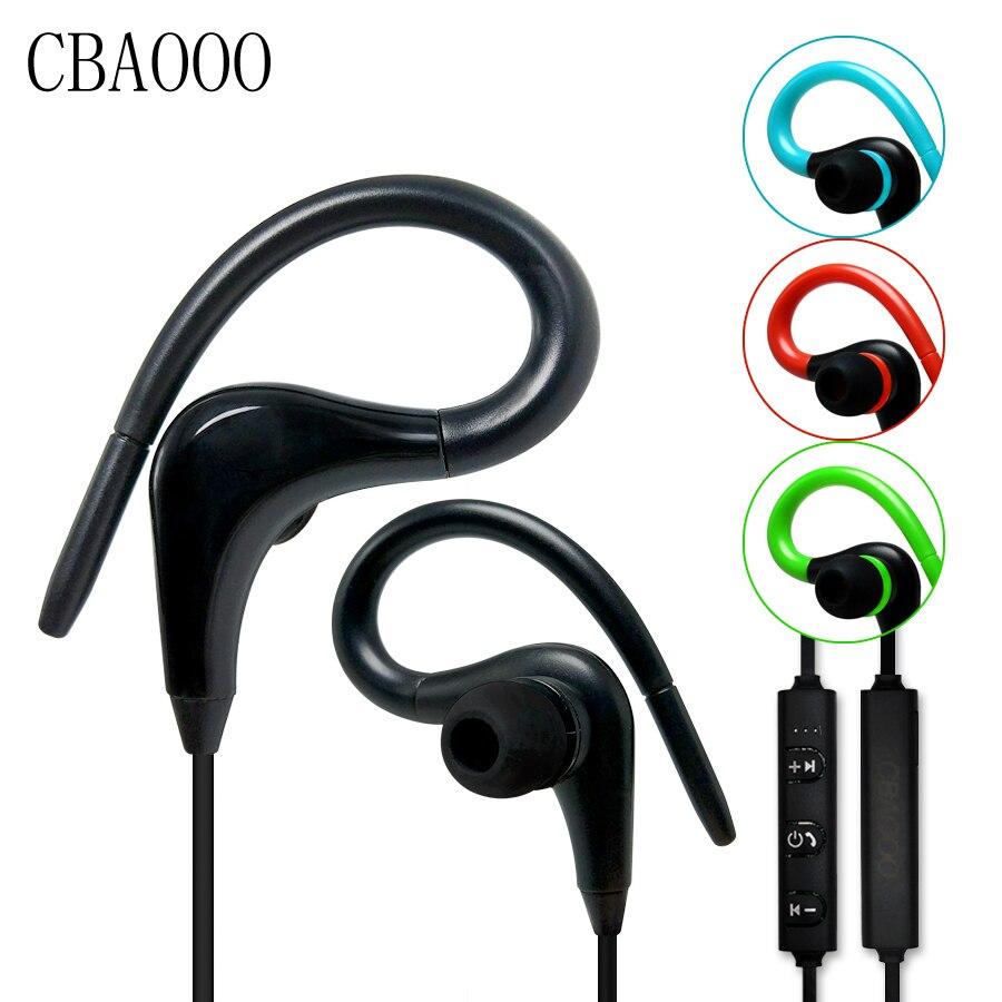 CBAOOO bluetooth earphones 4 1 wireless sports headset stereo sweatproof headphones with MIC for iphone samsung