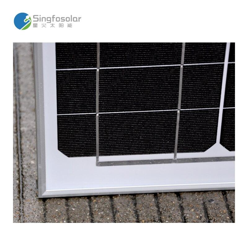 Singfo fotovoltaico coche 12