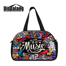 Dispalang vintage travel bags for students women's fashion trip luggage handbag brand men's duffle packing organizers with shoes