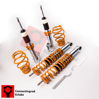 For VW Polo 6N2 MK3 6N2 1.4L 1.6L 99 02 1.4tdi Coilover Suspension Lowering Kit All Engines Coilovers Suspensions Kit