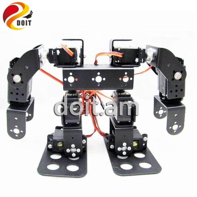 Official DOIT 8 DOF Humanoid Robot Walking Man Bipedal Robot Steering Gear Bracket Part Robot Arm/Hand Robotic Model Robotics