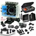 """WifiI Action Camera 12MP HD 1080 P 30FPS 2.0 """"LCD Mergulho 30 M À Prova D' Água Esporte DV Camera esporte cam carregador de bateria extra"""