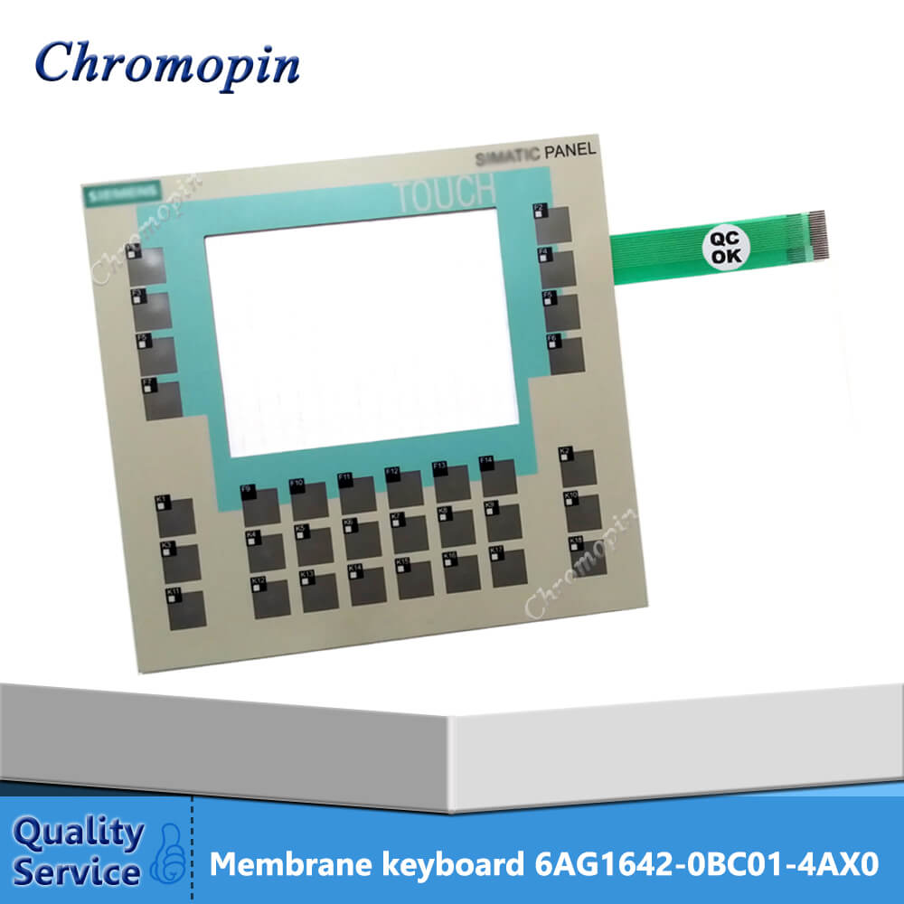 6AG1642-0BC01-4AX0 Membrane Keypad Switch 6AG1 642-0BC01-4AX0 for Siemens Operator Panel Keypad Repair membrane keypad for ccx trophy trex repair