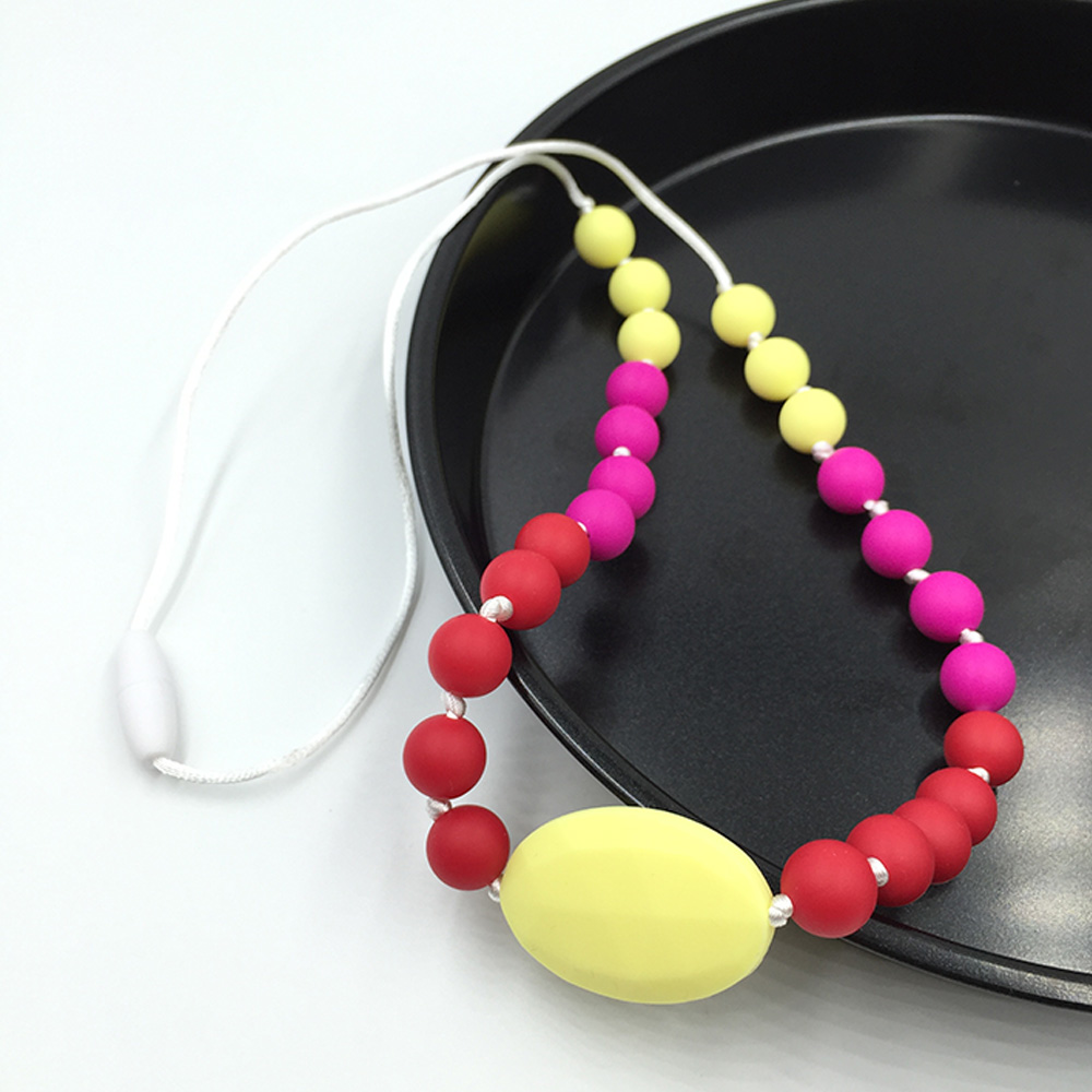 10pcs Baby Teething Toys Pearl Silicone Beads Lentil 12mm Bpa Free Silicon