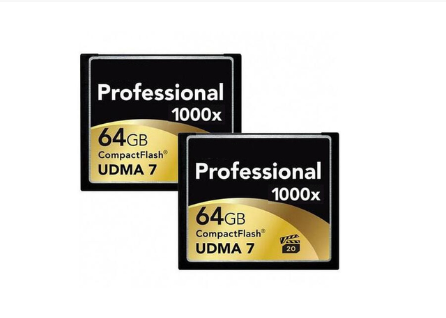 Brand 1000x Professional Memory Card 32GB 64GB 128GB High Speed CF Card Compact Flash Card For DSLR Camera Full HD 3D DV Video