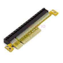 Pci express riser cartão x8 para x16 esquerda slot adaptador para 1u servidores whosale & dropship(China)