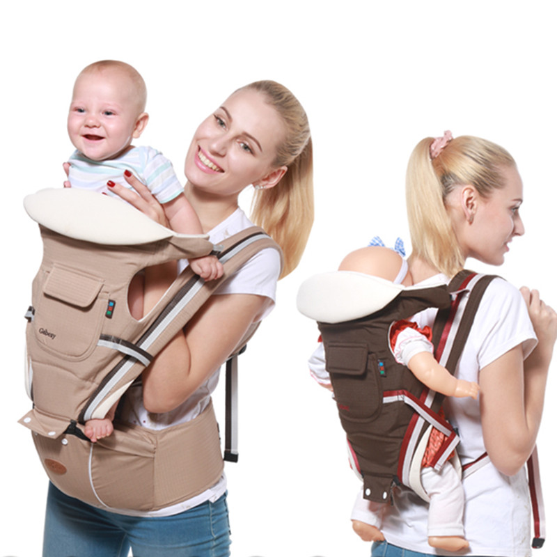 Ergonomic Baby Carrier Sling Baby Backpack Carrier Backpack Hipseat for newborn Baby Carrier Baby Kangaroos Toddler Wrap Bebes-in Backpacks & Carriers from Mother & Kids on AliExpress