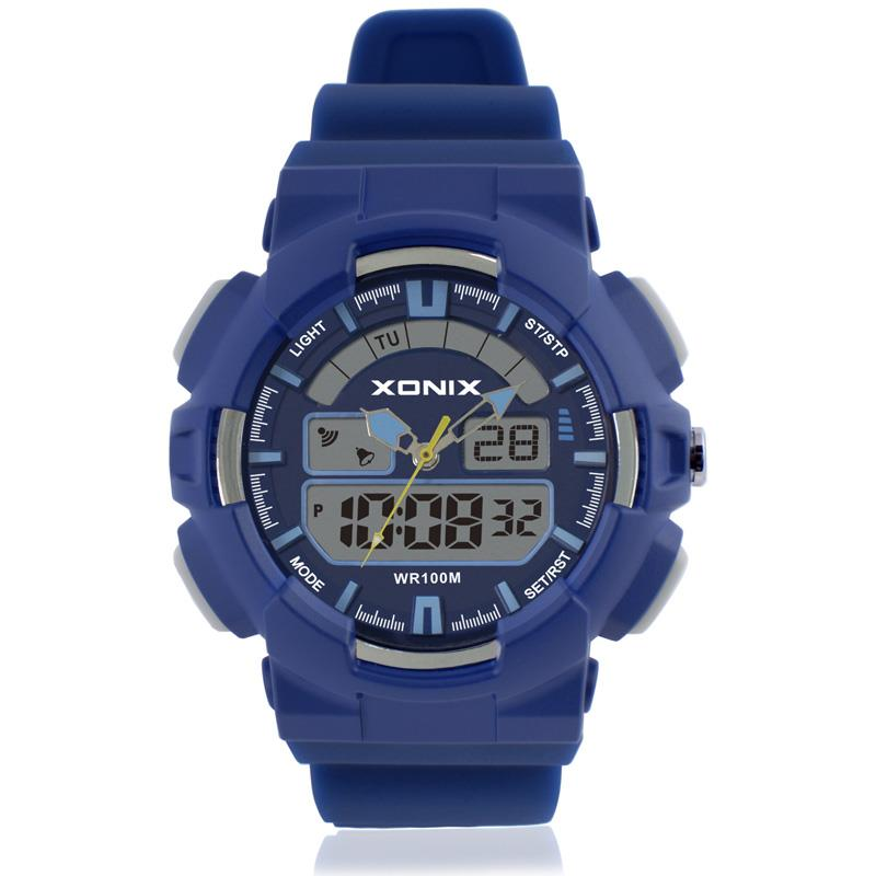 Sport Merk Heren Sport Horloges Analoog Digitale LED Elektronische quartzhorloges 100M waterdicht zwemhorloge NZ