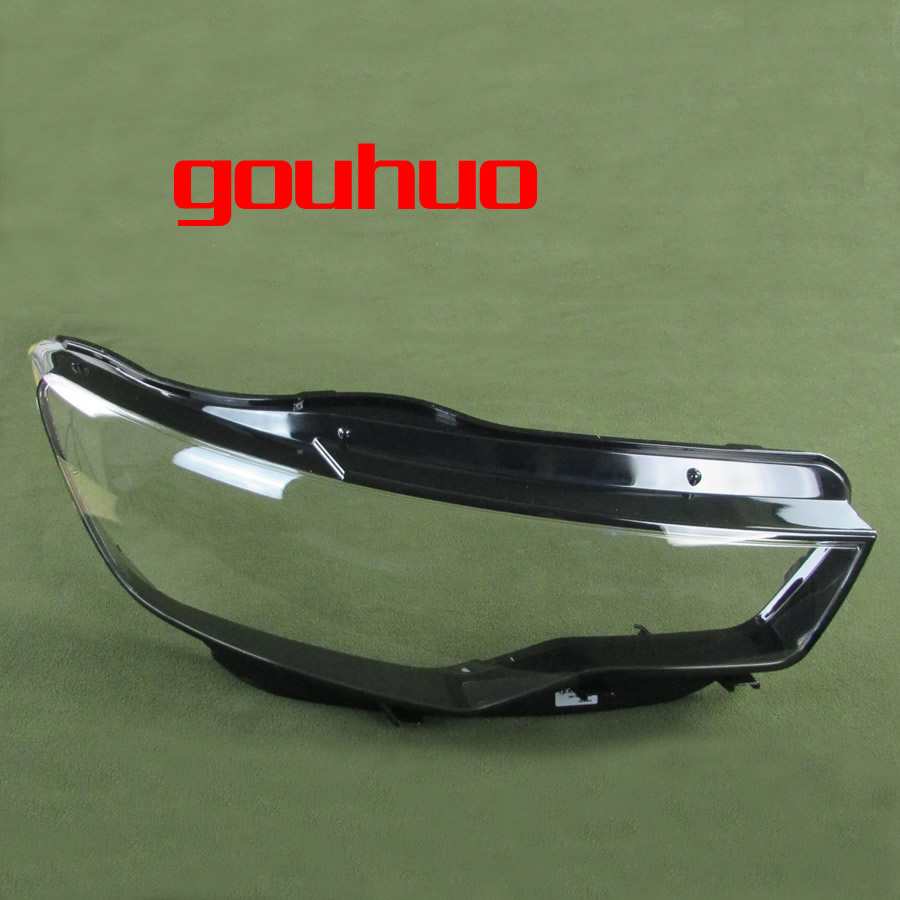 For Audi A6l C7 12 15 Headlight Cover Headlight Lamp Shell Headlamps Transparent Lampshade The Base Shell With Base 2pcs