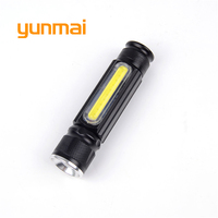 With Magnets USB Mini Flashlight CREE XM L T6 LED Torch Rechargeable Waterproof Flash Light 3800