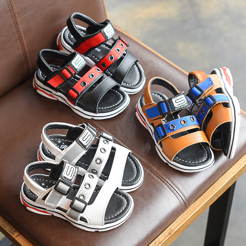 2018 Summer Children Casual Sandals Boys Soft Botton Comfortable Sandals Girls Open-toed Sports Sneaker Kids Breathable Footwear