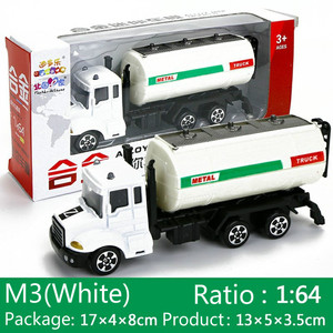 Image 5 - 1 個ミニおもちゃ車モデル合金ダイキャストエンジニアリング建設消防車救急車輸送車教育子供のギフト