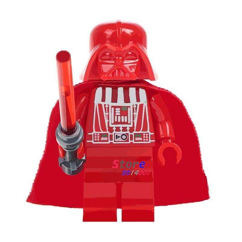1 ADET Leia R2D2 obi-wan Darth Vader yapı taşları modelleri tuğla oyuncaklar çocuk kitleri