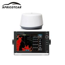 """""""+ 4G цветной сенсорный ЖК-экран морской навигационный приемник AIS морской gps Радар навигация разведка рыбы 3D дисплей"""