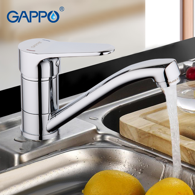 GAPPO Water mixer tap Kitchen taps Brass kitchen sink faucet chrome kitchen mixer single Bronze tap