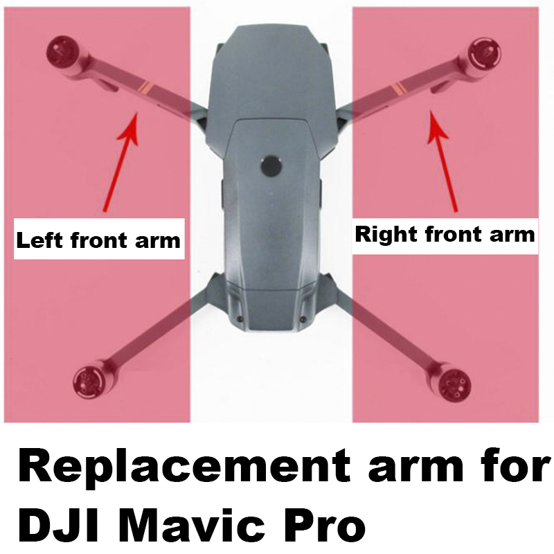 Repair Parts Arm and Motor for Dji Mavic Pro Drone Left Right Front Back Arm for Repairing Accessory Landing Gear Legs Kits dji mavic motor arm body shell front back left right motor arm for mavic pro original accessories parts