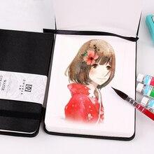 Kemila художественная профессиональная цветная карандашная книга, водная цветная краска, бумага, цветная книга для художественного дизайнера, Студенческая книга для рисования, эскиз