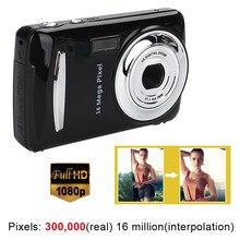 New Black Ultra Photo Camera 16MP Ultra-clear HD Digital