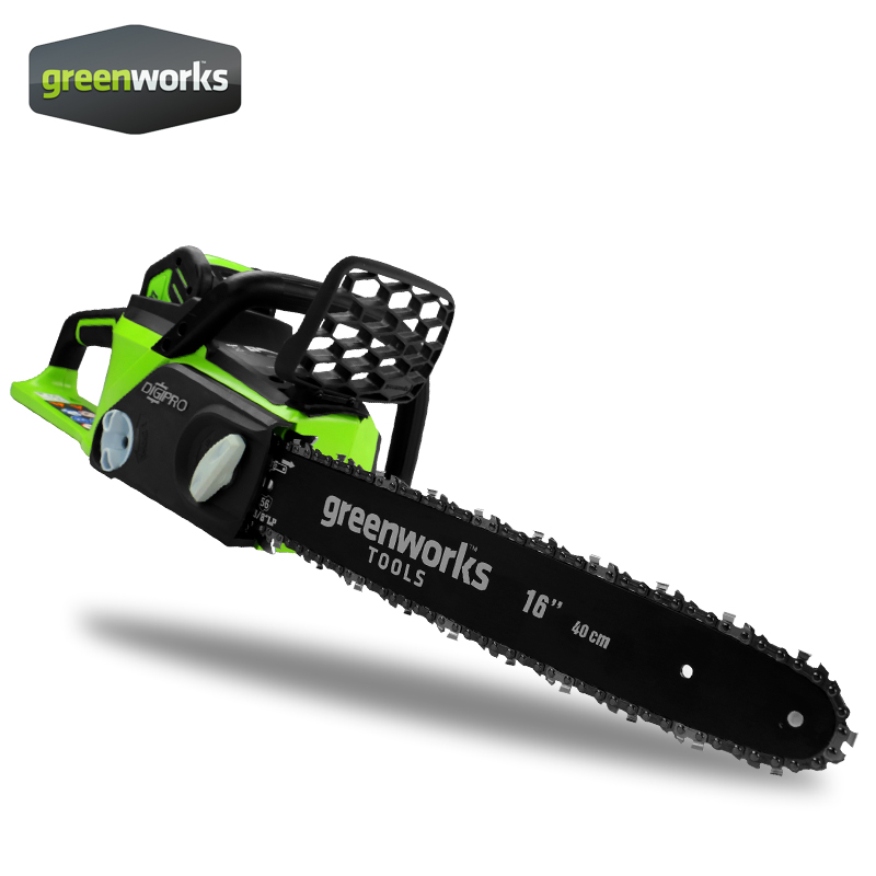 Greenworks 4.0Ah <font><b>Chain</b></font> Saw Brushless motor , <font><b>Chainsaw</b></font> ,with 4.0ah battery ,