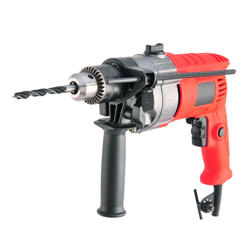 220v multifunction electric impact drill wood metal stone cutting off household wall hole drilling tools electric hammer carton multi purpose impact drill for household use la414413 upholstery drilling wall percussion impact drill set power tools 220v