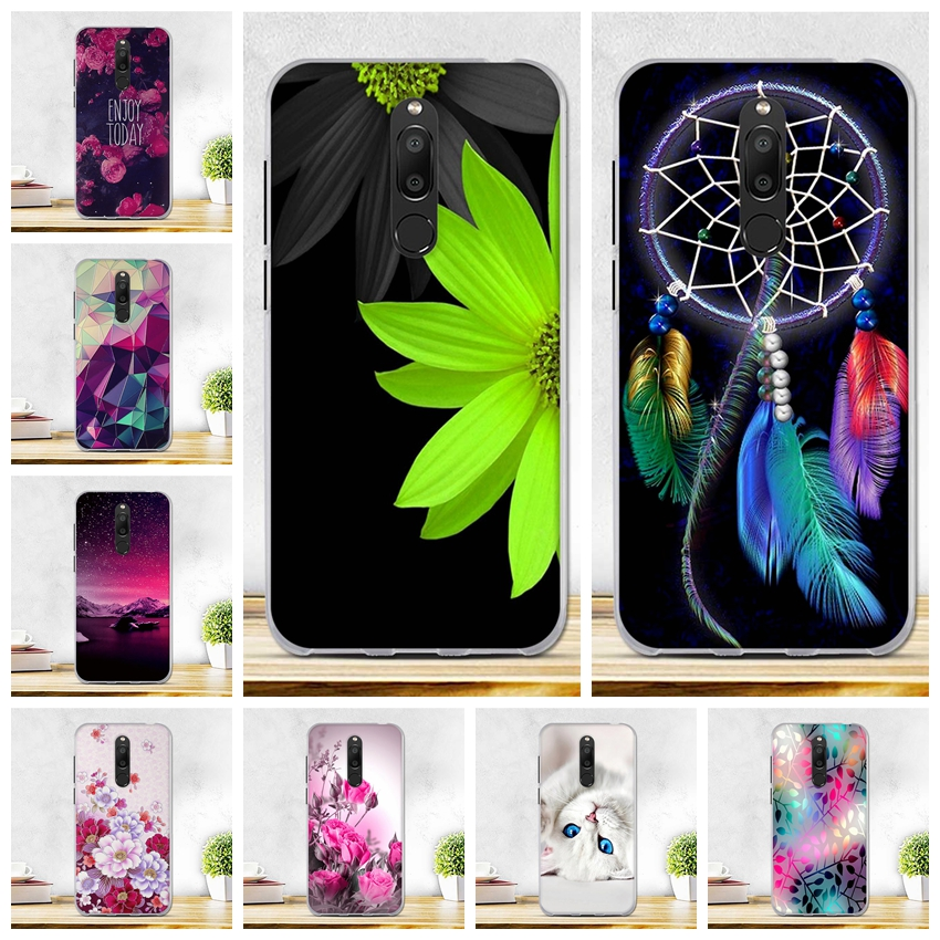 5.7 Inch Cover For Meizu M6T Case Silicon Soft TPU Back Shell Cover For Fundas Meizu M6T Case Cover M6 T M 6T M811H Phone Cases