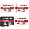 TOSHIBA Карта Micro Sd 32 ГБ Класс 10 16 ГБ/64 ГБ/128 ГБ UHS-1 Class10 633X U3 90 МБ/С. Карты памяти Флэш-Памяти Microsd для Смартфонов