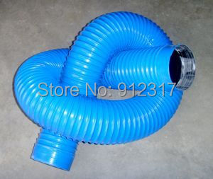 Internal Diameter 100mm Dust Collector Pipe Length Size 3000mm Per Piece