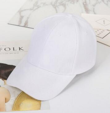 Blank solid color baseball cap, fashionable personality, wet hat, simple and pure color hat